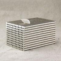 1000x N35 2 x1mm Strong Magnete Disc Earth Neodymium Magnet Scheiben magnete