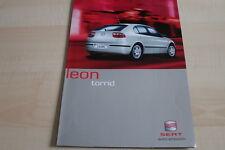 138433) Seat Leon - torrid - Prospekt 01/2002
