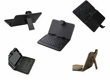 7.7'' Inch PU Leather Case Cover USB Keyboard Stand for Android Tablet PC