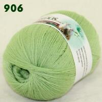 Sale 1 ball LACE Soft Crochet Acrylic Wool Cashmere Wrap Hand Knitting Yarn 06