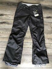 NWT Women's Burton Mesa Cargo Pant Snowboard Ski Pants True Black Small S New
