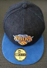 Premium Denim New Era NBA New York Knicks 59 Fifty Gorra Talla 7 1/8