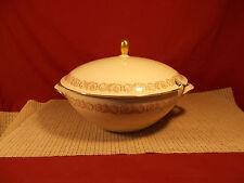 "Seltman Weiden Bavarian China Persia Gold Trim Pattern Soup Tureen 10"" W"