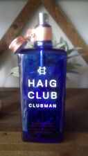 Haigh club Upcycled Whisky Bottle with LED lights & copper trim
