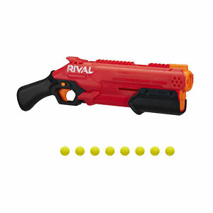Nerf Rival Takedown XX-800 Blaster, Pump Action, 8 Official Nerf Rival Rounds