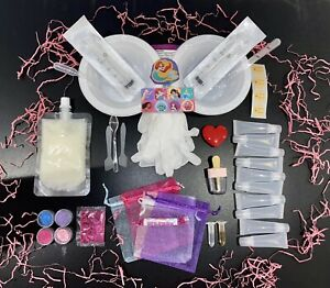 PRINCESS LIP GLOSS Making Kit with YOUR CHILDS NAME Girls Gift Lip Balm Beauty