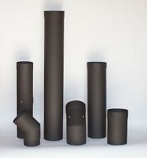 5 inch Steel Flue Pipe 250mm Stove Pipe for Wood Burning Stoves