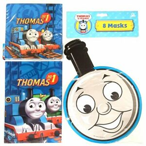 Thomas and Friends Party Pack for 8 People - Party Bags, Masks and Napkins