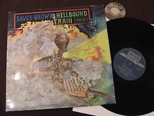 LP Savoy Brown Hellbound Train UK MISSPRESS RARE FOLD OUT COVER | m -