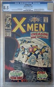 X-Men 37 CGC 8.5 First appearance Of Mutant-Master