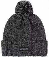 Adidas Recon II Ballie Hat Men's Size Lined Knit Pom Pom Beanie Gray/Black Cap