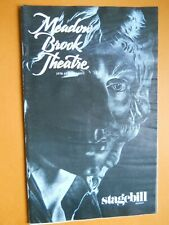April 1979 - The Meadow Brook Theatre Stagebill - The Adventure of Scapin