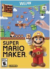 Super Mario Maker Nintendo Wii U New Sealed Free Ship