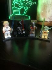 NEW LEGO Star Wars Minifigures (YODA, Darth Vader, Luke , Mandalorian). REPLICA
