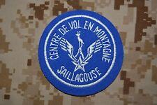 Z047 écusson patch militaire centre de vol en montagne de Saillagouse ALAT