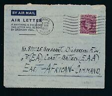 04193) GB / UK GA Aerogramme LF1 I, Woking 27.2.44 > Sgt. EA EAA Command