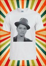 Bruno Mars Cantante R&B Funk soul pop Uomini Donne Canotta Tank Top Unisex Maglietta 1960