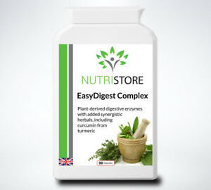 EasyDigest Complex - Combination Supplement of 14 Powerful Digestive Enzymes