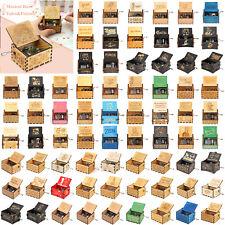 Harry Potter Spielthron Spieldose Holz Spieluhr Musikbox Kind Geschenk Spielzeug