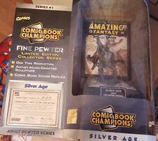 """Figura de plomo """"Spider-Man"""" Edición limitada/Lead Spider-Man figure limited ed."""