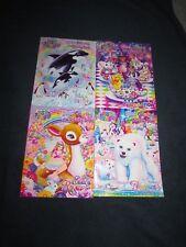 4 Lisa Frank Coloring Activity Books lot: ALL STAR CELEBRATION, MAX & MINI +