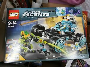 Brand New Lego 70169 - Ultra Agents - Agent Stealth Patrol sealed