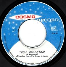 EDY DAUMIER & HERMITES un anno d'amore GIAMPIERO BONESCHI tema romantico 45GIRI