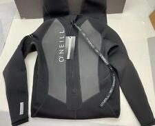 Men's O'Neill Reactor II Full Wetsuit Size XS 5040 Black SwimSuit 3/2mm Zip