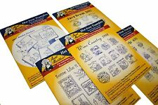 Aunt Martha`s Iron On Transfer Patterns for Stitching, Embroidery or Fabric Pain