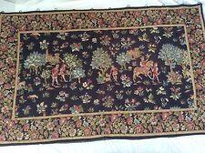 "Vintage European Wall Tapestry Hanging, 54""x 86"""