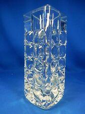 Cool 70´s Horst Tüselmann Design Ichendorf glass vase / Glas Vase 22 cm 3,855 kg