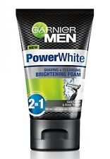 Garnier Men Power White Face Wash Cleasning & Shaving Brightening FOAM 2in1 New