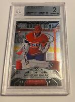 Jaroslav Halak 2007 Upper Deck Black Diamond Rookie RC BGS 9 Mint Canadiens