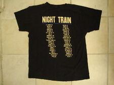 Jason Aldean Night Train Concert Tour Country Music Singer Soft Black T Shirt M