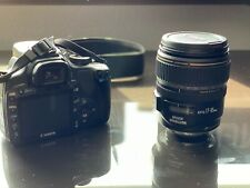 Canon EF-S 17-85mm f/4-5.6 IS USM Zoom Lens WITH Canon EOS Rebel XTi Dslr Camera