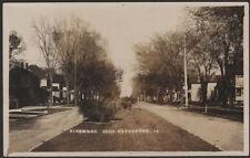 USA RPPC Kirkwood Blvd. Davenport, IA. Used.