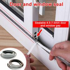5M Self Adhesive Window Door Weather Strip Draught Excluder Brush Seal Strip