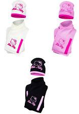 Hello Kitty Ragazze Cappellino E Sciarpa con Tasche