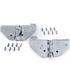Smittybilt 7403 Windshield Hinges Pair Stainless Steel For 1976-1986 Jeep CJ