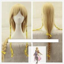 Legend of Zelda Skyward Sword Zelda 100cm long yellow straight cosplay wig