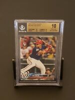 2018 Topps Update #US300 Juan Soto Nationals RC Rookie BGS 10 PRISTINE