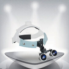3.5X 420mm Dental Surgical Medical Headband Binocular Loupes Glasses Magnifier