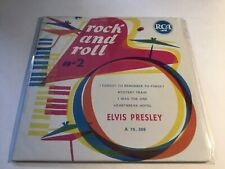 """Elvis Presley - Rock And Roll No. 2 France Promo 7"""" CD Extended Play Package"""