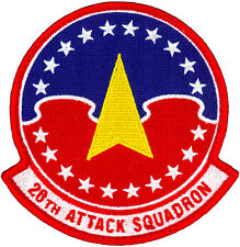USAF 20th ATTACK SQUADRON PATCH