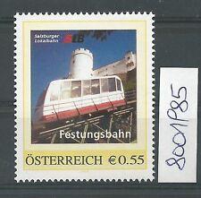 """Österreich PM personalisierte Marke Eisenbahn """"SLB Festungsbahn""""  **"""