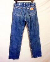 vtg 80s 90s Wrangler 13MWZPW Cowboy Cut Denim Jeans Medium Wash sz 32 X 34