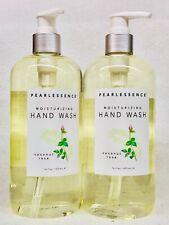 2 Pearlessence COCONUT ROSE Moisturizing Hand Wash Soap 16 oz