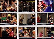2013 Cryptozoic Big Bang Theory Season 5 Complete 68 Card Set + Empty Box + Wrap