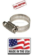 """(10) #28 / 5228 / Tridon / Ideal Stainless Steel Hose Clamp (1-1/4"""" ~ 2 1/4"""")"""