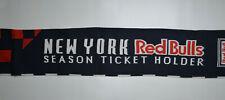 New York Red Bulls Scarf Soccer Futbol MLS Season Ticket Holder